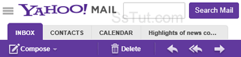 2012 Yahoo Mail redesign