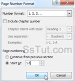 Customize pagination settings in Word 2010
