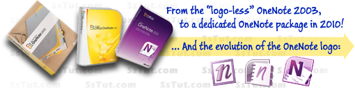 From OneNote in Microsoft Office 2003, to OneNote 2010!