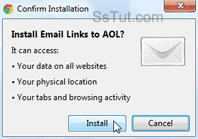 Install the Email Links to AOL extension in Google Chrome