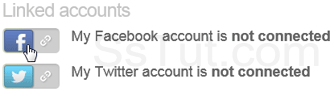 Link your Facebook account to your Yahoo profile