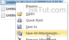 Save all Outlook attachments before deleting them