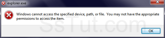 Some Windows applications cannot be run as another user